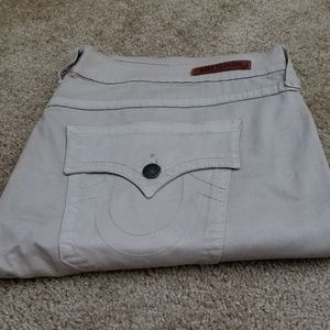 True Religion /Ricky Cotton Twill Pant